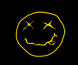 Nirvana face Logo