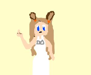 Jasmine from Pokemon looking cute