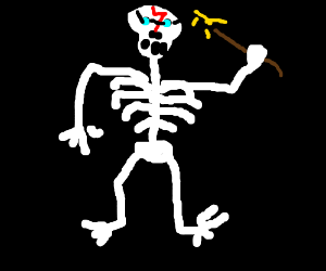 An harry scary skeleton - Scary skeleton games ...