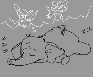 Elephant nightmares