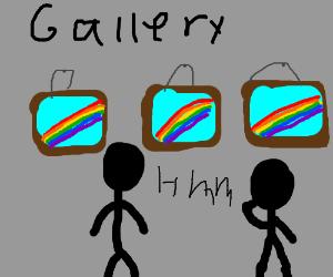 rainbow gallery,I saw the last pannel im magic
