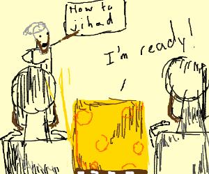Spongebob goes to terrorist training camp