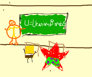 U is for uranium bombs