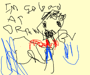 A very bad drawing