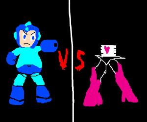 Mettaton EX VS Megaman