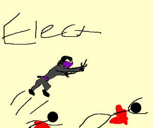 Electra doesn't know why she's killing people