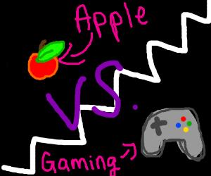 APPLE VS GAMING ROUND !