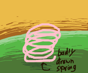 Spring time, now with springs