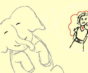 Elephant dreams of... murder?