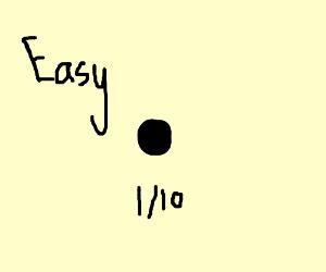 A dot (Easy [1/10])