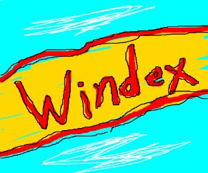 Windex ad
