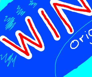 A Close Up of Windex