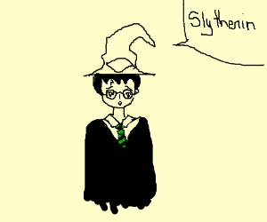 Harry Potter should have been a Slytherin