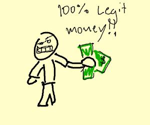 Legit money, not a scam
