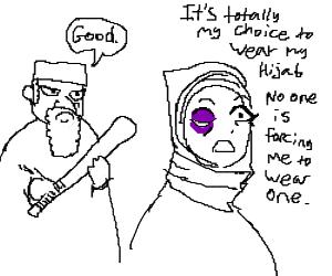 My Hijab is my choice