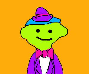 Guy in a suit and bowler hat