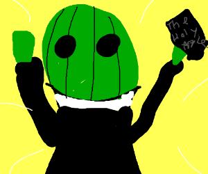 Watermelon preacher