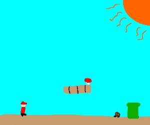 The land of Super Mario
