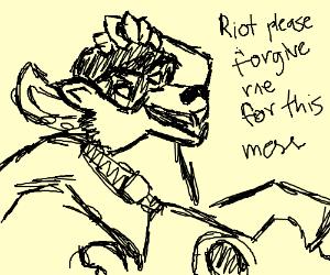 pickpocketing suave raccoon