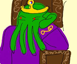 King Cthulu is bored