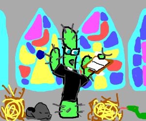 Cactus Priest