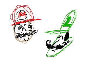 Super MS Paint bros