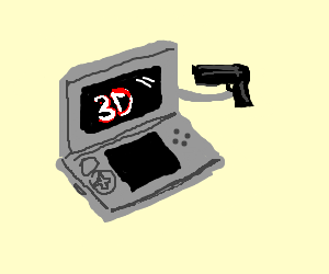 Suicidal new 3DS?