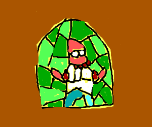 Need a stained-glass window? Why not Zoidberg?