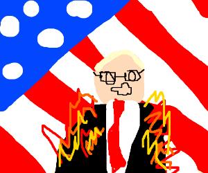 Burning Sanders