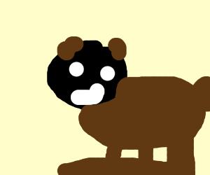 stupid boy man child bear