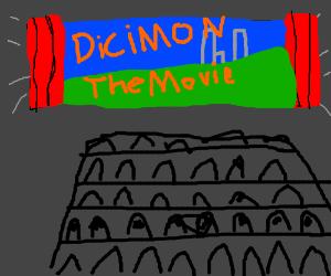 Dicimon the movie