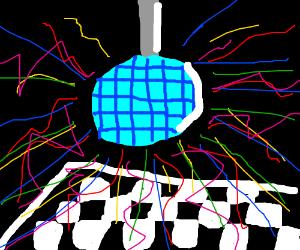 15,000th time disco dancing