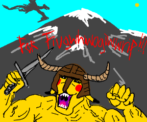 "Pikachu says ""For fiugwhwogiwwrip!!!!!!!!!!!!!"