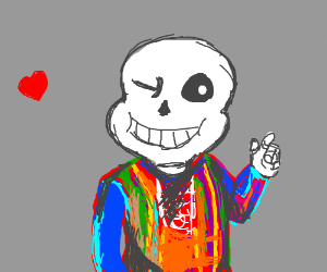 Sans and the Amazing Technicolor Dreamcoat