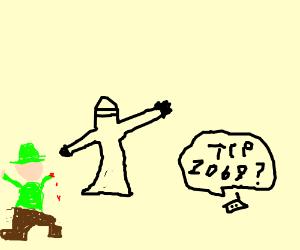 Ninja Takes Over Boy Scout Troop 2069