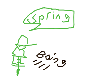 It's Spring! (boing boing kind)