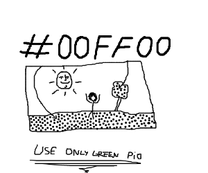 Use only Green PIO