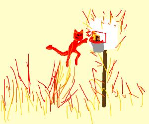 Devil dunks