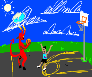 The Devil Went Down to The B-Ball Court