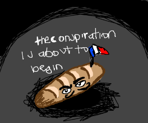 The French conspiration is about to begin