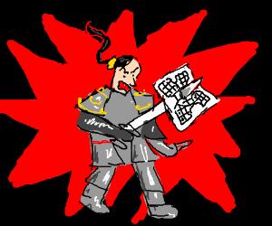 "Samurai master commits ""Sudoko"""