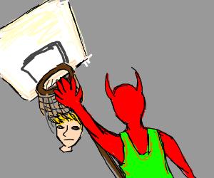 Satan Has Mad Basketball Skills