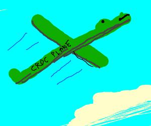 croc plane