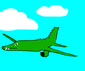 Crocodile Airplane.