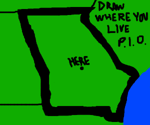 Draw where you live (PIO)