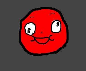 derpy red face