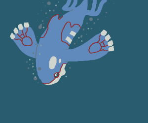 Kyogre Uses Dive!