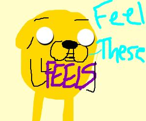 Feel Jake's feels