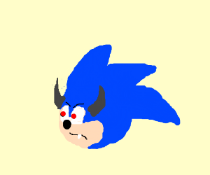 Sonic as a demon