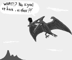 Pterodactyl has an iphone